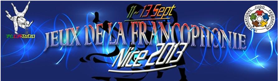 logo jeux de la francophonie Nice 2014